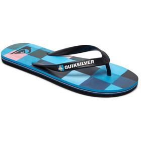 Quiksilver Molokai Resin Check - Sandales Homme - bleu/noir